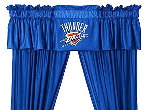 NBA Oklahoma City Thunder Valance Logo Window