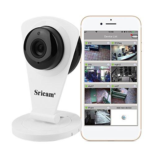 Sricam SP009C Mini Wlan IP Camera 720P HD Wasserdicht USB Überwachungskamera mit Bewegungsmelder und Speicher Logitech-videoüberwachung