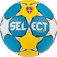 Select Solera–Balón de Balonmano, Color Blau/Gelb/Weiß, tamaño 2
