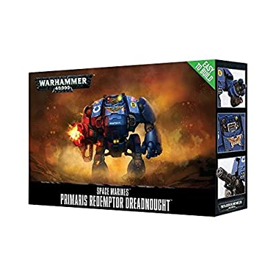 Games Workshop Jeux Atelier 99120101209 Etb Primaris Redemptor Dreadnought Dessus de Table et de Jeux Miniature