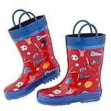 #10: Stephen Joseph All Over Print Rainboots Sports Size- 11 (S17)