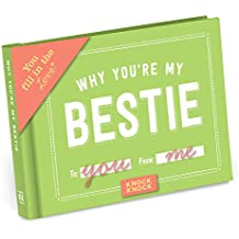 Knock Knock Why You`re My Bestie Fill in the Love Journal (Fill-in the blank Journal)