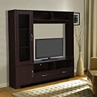 Adorn your living room with this well-constructed tv units specially designed by home town. Efficiently crafted for your tv essentials and ample of space to store miscellaneous items. Product Care Instructions : Always follow the recommended weight l...