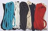 Großhandel für Schneiderbedarf SPARANGEBOT 50 m Baumwollkordel 5-6 mm verschiedene Farben, Lieferung wie Bild