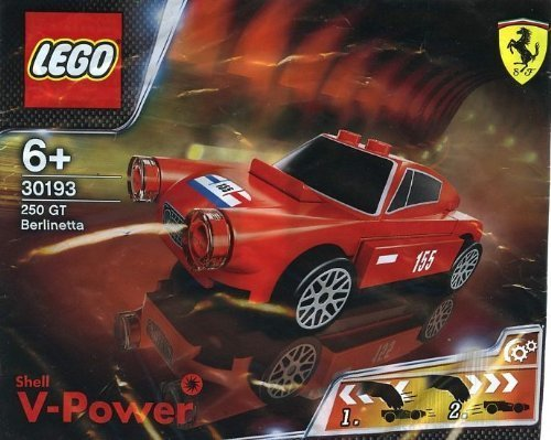 LEGO Ferrari Shell Promo 30193 Ferrari 250 GT Berlinetta (Shell Lkw)