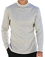 Mens Southbay Roll Neck Sweater in Grey