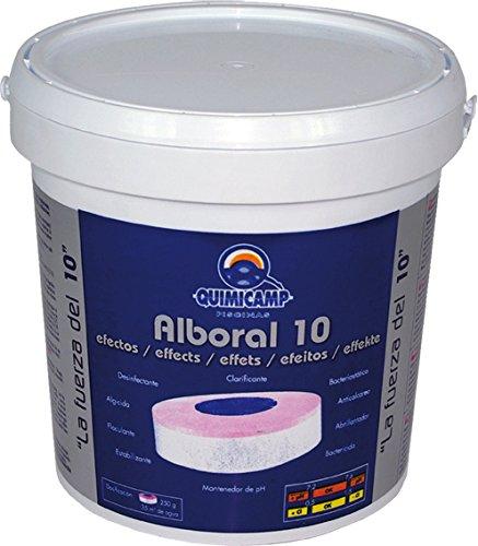 Quimicamp 201205 Chlore rapide Alboral 10 T-250G, 5 kg