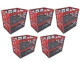10 x Profi - Klappbox TÜV zert. 45 L bis 50 kg anthrazit / rot Faltbox Kunststoff Box Kiste