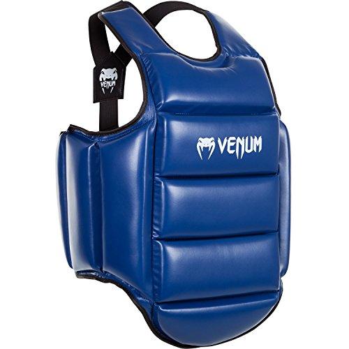 Venum Reversibel Körperschutz Karate Wendeweste, Blau/Rot, M