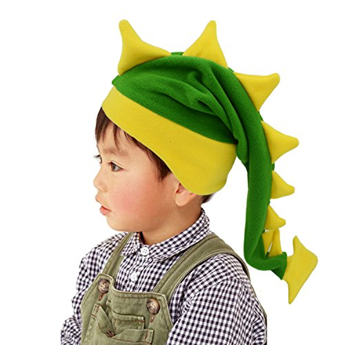 Geekbuzz Lustige Dumme Drachen-Endstück-Hüte Neuheit-Abendkleid-Kostüme Nachtmützen für schlafende verrückte Partei Headwear für Erwachsene Kinder (Klein, - Dumm Kostüm Für Erwachsene