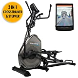 Die besten Ellipsentrainers - Skandika Crosstrainer Elliptical Carbon Pro Advance Ellipsentrainer, Schwungmasse Bewertungen