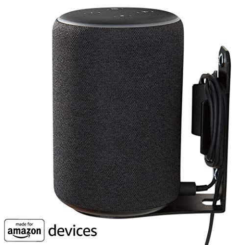 Support mural «Made for Amazon» pour l'Echo Plus (2ème génération) et l'Echo (3ème génération) - Noir
