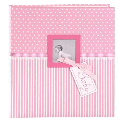 it Fensterausschnitt, Sweetheart, 30 x 31 cm, 60 weiße Blankoseiten mit 4 illustrierten Seiten und Pergamin-Trennblättern, Kunstdruck, Pink, 15801 ()