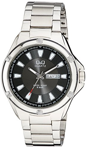 Q&Q Analog Black Dial Men's Watches - A192-202Y image