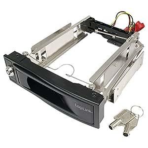 Logilink 4260113575024 Wechselrahmen für SATA-Festplatten 8,4 cm (3,5 Zoll)