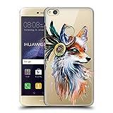 Head Case Designs Offizielle Pixie Cold Fuchs Tiere Ruckseite Hülle für Huawei P8 Lite (2017)