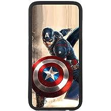 Funda carcasa para móvil capitan america marvel compatible con Samsung Galaxy S4