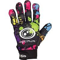 OPTIMUM Fusion Full Finger - Guantes de Hockey para niño (Talla L)