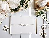 Guestbook ospiti Love bianco matrimonio sposa libro degli ospiti guest book sposa EmozionarSì