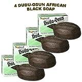 Dudu-Osun African Black Soap (100% Pure) Pack of 4 Body Care / Beauty Care / Bodycare / BeautyCare
