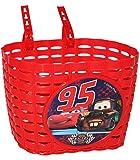 Unbekannt Fahrradkorb / Korb - Disney Cars Lightning McQueen mit Befestigung den Lenker vorn - Fahrrad Car Auto Mc Queen Autos Jungen - auch für Roller und Dreiräder / ..