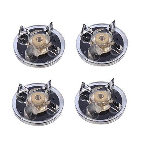 4 Stück WCIC Teile und Zubehör für Mixer Grundausstattung Kleine Geräte Ersatz für 250W Magic Ball Mixer Entsafter Ersatzteil Zubehör Innendurchmesser 4,5mm Ausgang Durchmesser 33mm