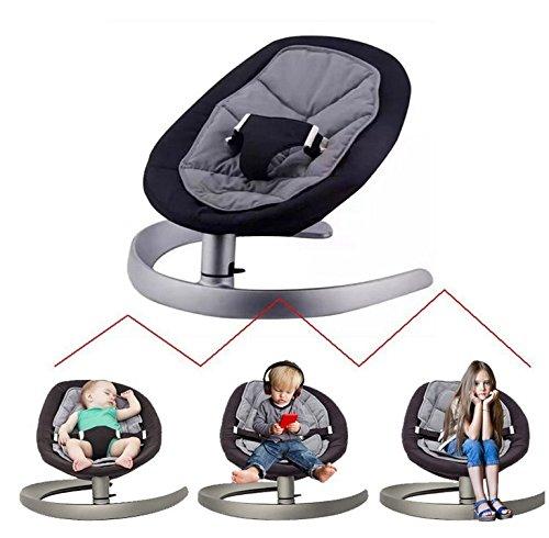 Imagen para Silla de bebé Bouncer, silla de balanceo IFOYO para recién nacido, niños de 0 a 7 años, montaje rápido