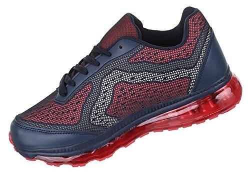 Damen Schuhe Freizeitschuhe Sneakers Turnschuhe Modell Nr.1Blau