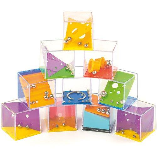Baker Ross Geschicklichkeitsspiele für Kinder - Reisespiel und zum Kindergeburtstag - 6 Stück