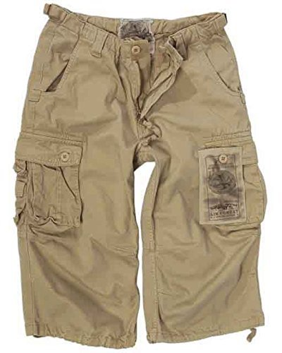 air-combat-3-4-jeans-pantalons-prelavage-kaki-kaki-xl