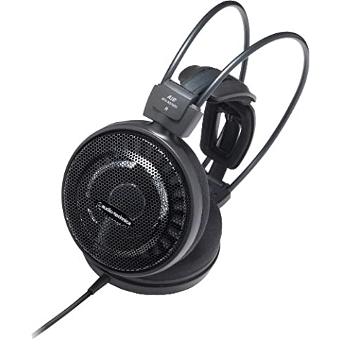 Audio-Technica Air Dynamic - Auriculares de diadema abiertos (6.3 mm), negro