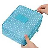 Best Bags For Less Hanging Travel Toiletry Bags - DEALCROX Portable Travel Cosmetic Makeup Toiletry Bag Case Review
