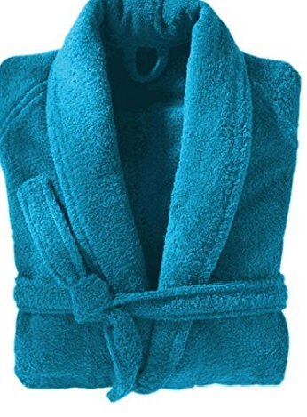 unisex-luxury-450-gsm-egyptian-cotton-terry-towelling-bath-robe-dressing-gown-xx-large-aqua