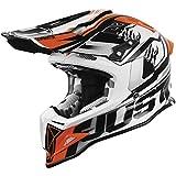 Solo 1606323018104107J12Dominator casco (bianco/rosso), XL