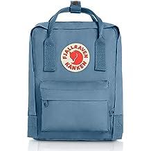 Fjällräven Kånken Mini Vinylon Azul mochila - Mochila para portátiles y netbooks (Vinylon, Azul, Monótono, Unisex, Bolsillo frontal, Bolsillo lateral, Cremallera)