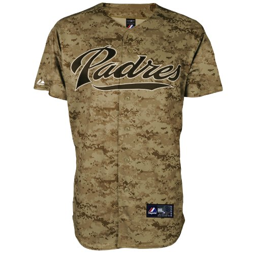 MLB Baseball Trikot/Jersey SAN DIEGO PADRES Camouflage in SMALL (S)