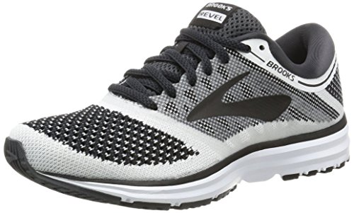 Brooks Revel, Chaussures de Running Femme Gris (Whiteanthraciteblack 1b155)