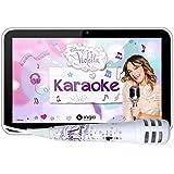 "Ingo INU019D - Tableta infantil de 7""(cámara de 2 Mp, procesador de 1.2 GHz, 4 GB, 1 GB RAM, sistema operativo Android, micrófono karaoke), diseño Violetta"
