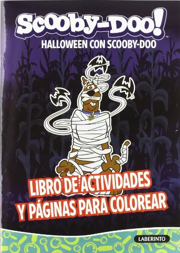 Halloween con Scooby-Doo (Libro de actividades)