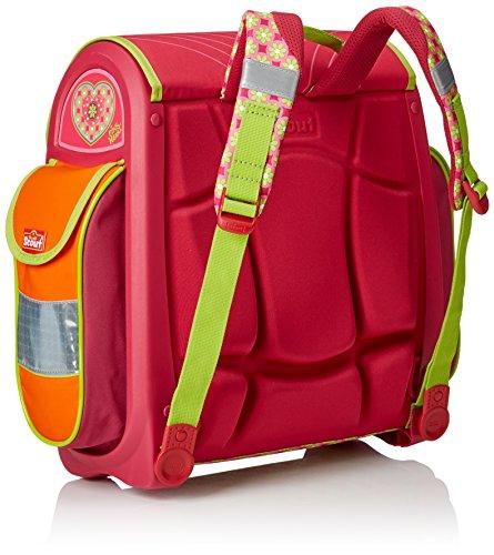 Scout Schulranzen-Set Basic Buddy Set 1 5 tlg Pink Heart 97 cm Pink 72500778700 - 2