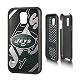 New York Jets Rugged Case for Samsung Galaxy S 5 Cell Phones - Black/White/Green by ProMark
