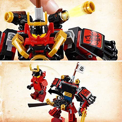 LEGO® NINJAGO® Le robot samouraï Jeu de construction, 7 Ans et Plus, 154 Pièces  70665