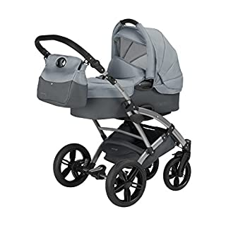 Knorr-Baby 3100-06 Kombikinderwagen Voletto Sport, grau