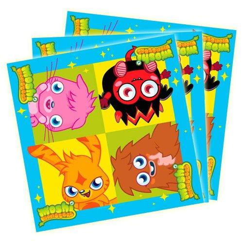 Moshi Monsters Birthday Party Serviettes de 1 paquet de 16