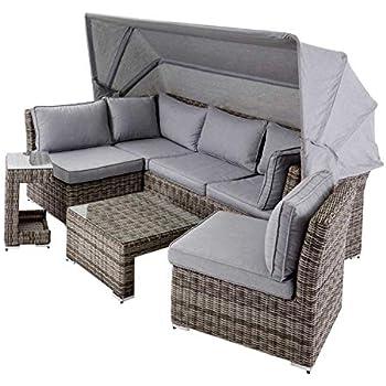 Amazon.de: Garten Multi Sofa + Dach Gartenlounge Terrassen
