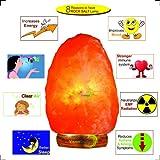 VISION CRAFTED Himalayan Pink Rock Salt Lamp 4-5 KG Unique Vastu Gift