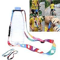 Gaddrt Bottles Hanging Rope Beverage Straps Water Bottles Buckles Lanyard Mineral Adjustable ABS
