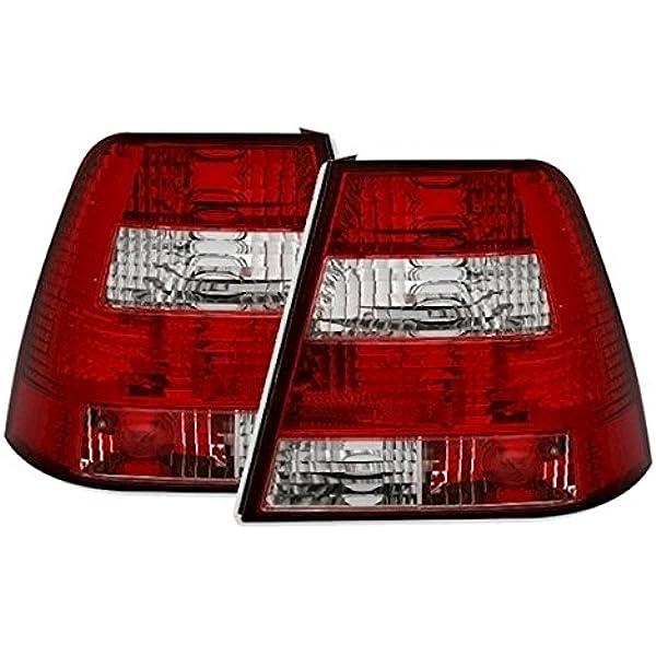 Ad Tuning 960832 Rückleuchten Set 2 Teilig Klarglas Rot WeiàŸ Auto