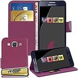 Accessory Master Violet Flip Coque Housse Étui portefeuille en cuir pour Samsung galaxy A5 A510F (2016)