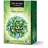 TE-A-ME Ice Brews Cold Brew Ice Tea, Green Mint, 18 Pyramid Bags